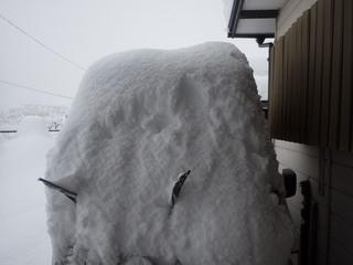 大雪軽トラ