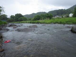 千曲川ヤマメ釣り